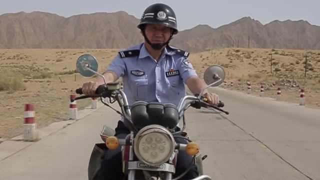 骑坏6辆摩托车,只为牧民的平安!