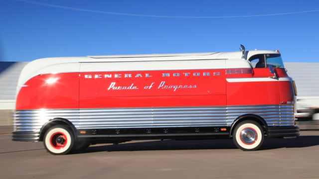 仅生产了12辆,上世纪通用巡礼巴士