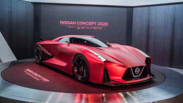 未来的尼桑GTR也许就长这样?