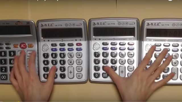 国产计算器能当电子琴,老外玩疯了