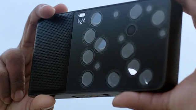 这个手机大小的相机有16个镜头