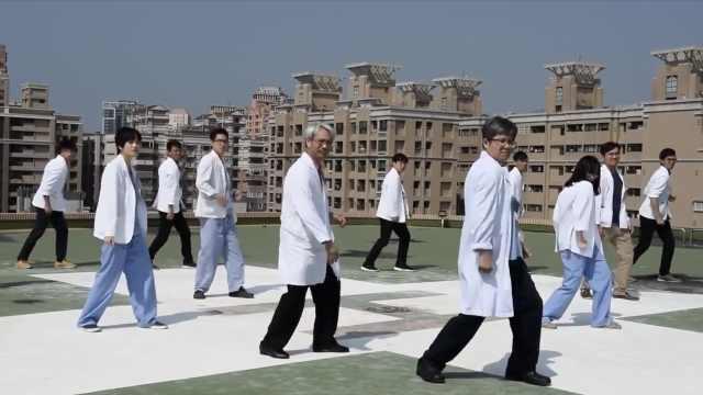 医护人员跳抖肩舞,画面超治愈!