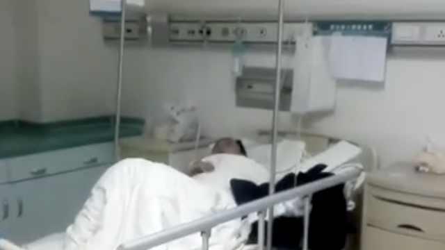 男工左前臂卷入热压机,被压扁截肢