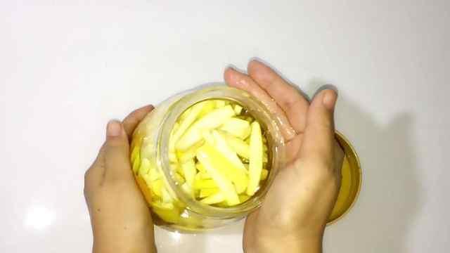 柚子皮做的洗洁精,去油腻真是强