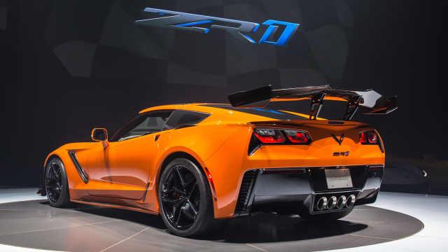 通用最快的跑车刷新,科尔维特ZR1