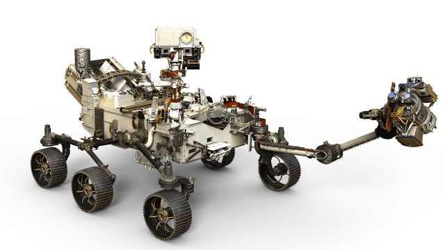 NASA发布新一代火星车:有23只眼睛