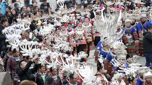 迎祭尤节,贵州8大支系苗族服饰巡游