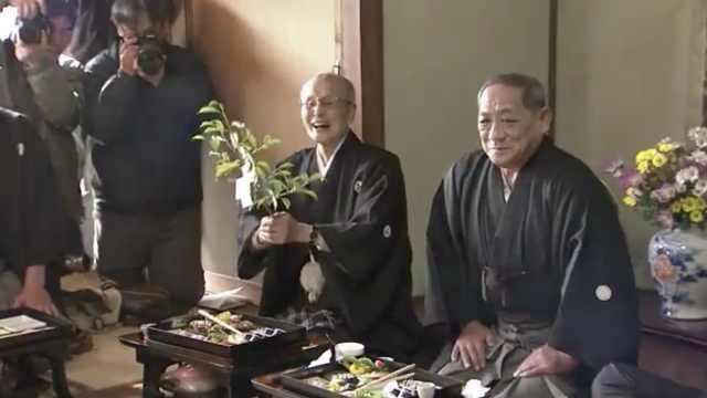 日本有个奇节,仰天大笑三声求好运