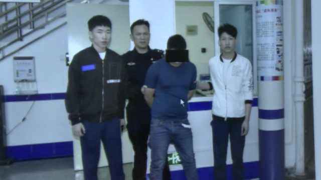 2小伙找工作路上擒贼,当场加入警队