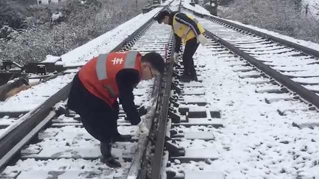 大雪来袭 西成高铁部分线路限速