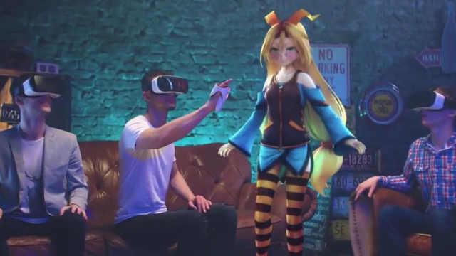 戴上眼镜就可以真实触摸虚拟世界?