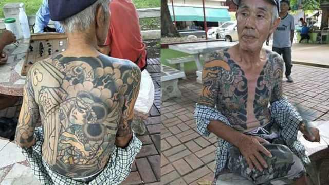 自拍纹身成网红,日本黑帮老大被捕