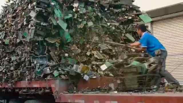 印度或成世界垃圾进口第一大国