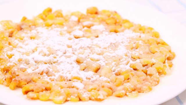 黃金玉米烙,甜甜脆脆甚是討喜