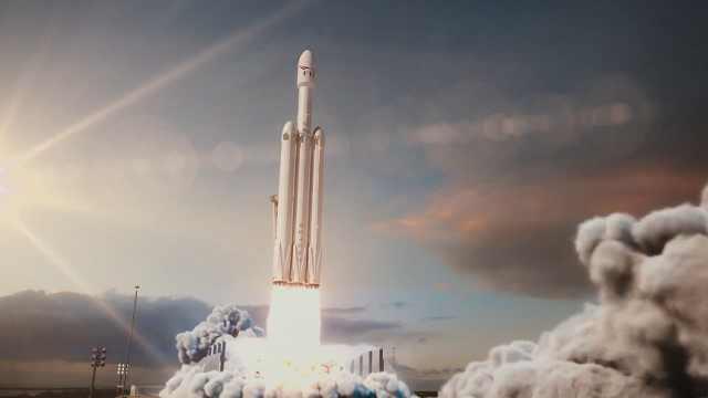 燃爆!SpaceX猎鹰火箭发射模拟动画