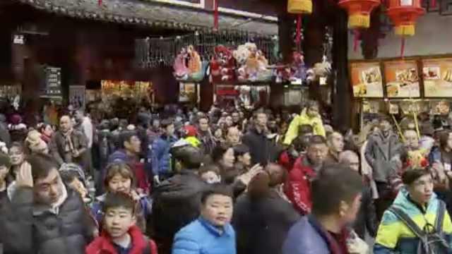"""上海""""空""""了?这些地方""""人从众"""""""