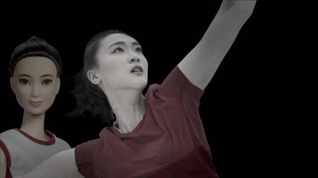 中国女性荣耀!芭比出惠若琪限量版