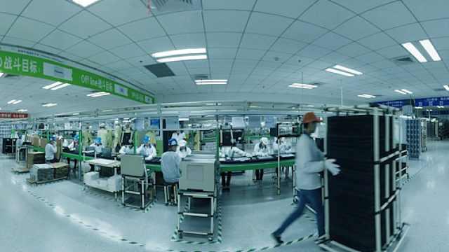 360°全景视频走进戴尔成都生产工厂