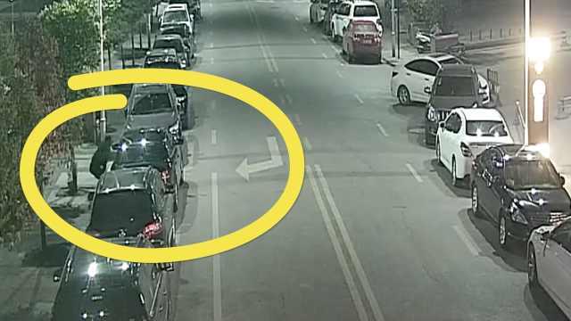 惯偷8秒撬车窗盗窃,民警2小时抓获