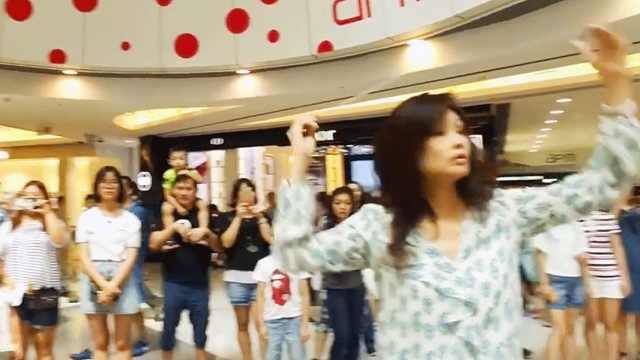 酷!燃爆的香港青少年乐团再玩快闪