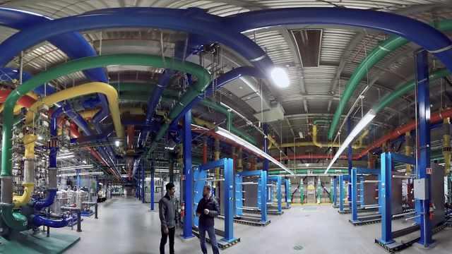 探访谷歌数据中心,好几栋楼存数据