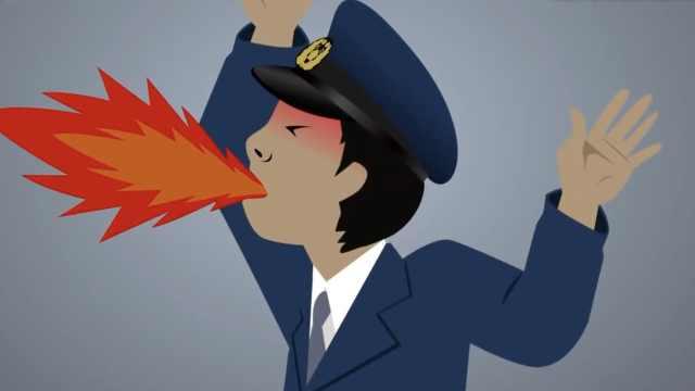 日本警察职权骚扰,让下属吃辣面