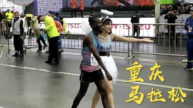 3万人雨中跑重马,男女冠军大揭晓