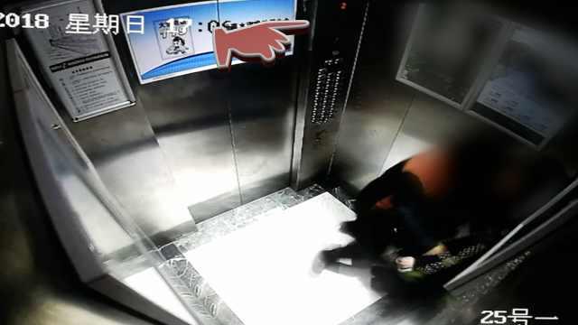 惊魂!电梯从8楼坠至2楼,女子脚崴伤
