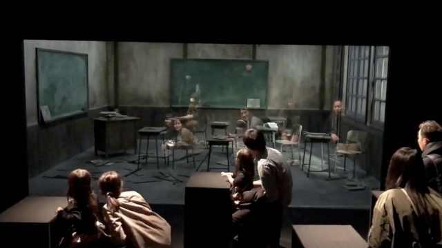 日视觉艺术展,幽灵飘满废弃教室?