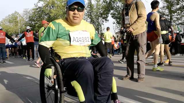 励志!他坚持3年坐轮椅