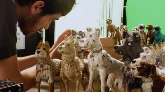 《犬之岛》拍摄幕后:工作量惊人