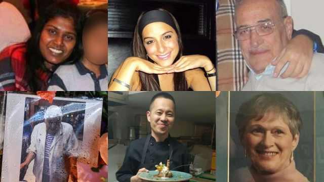 多伦多汽车撞人六名遇难者身份确认