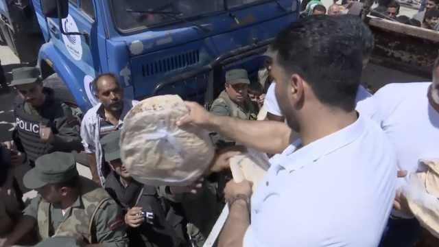 叙政府军发大饼,民众:感到重生