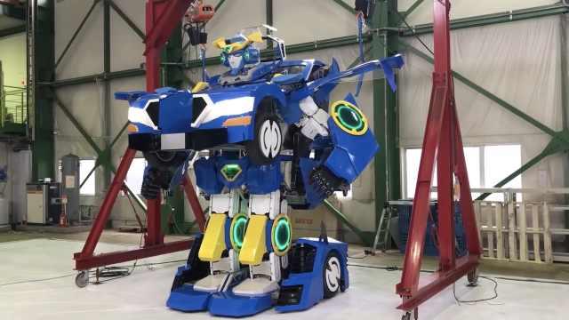 日本黑科技:可以变身成机器人的车