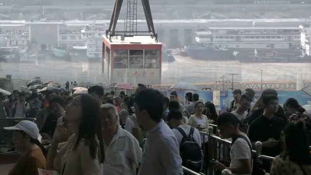 网红索道最强攻略,游客出招省1小时