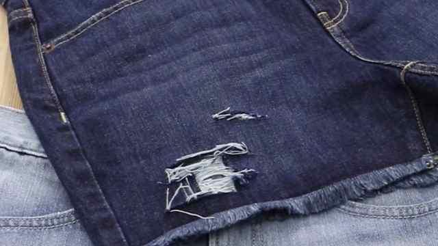 改造牛仔裤