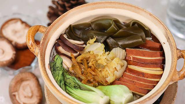 汤多料足的砂锅米线,你只需这么做