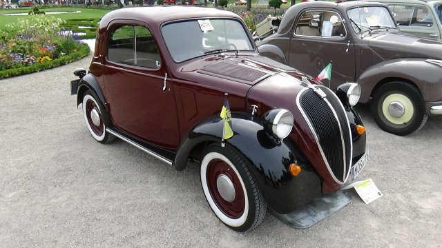 被称为米老鼠的菲亚特Fiat500