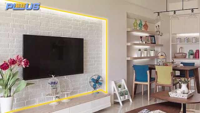 多种材质的客厅电视墙,你选哪一个