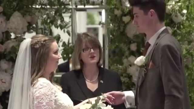 哈里与梅根结婚了!但不是皇室那对
