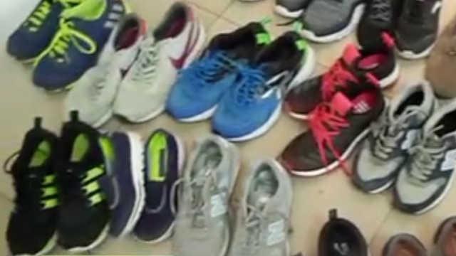 花甲夫妻盗千元鞋,几十块给卖了