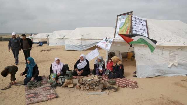 """""""耶路撒冷归我们"""",加沙抗议55死"""