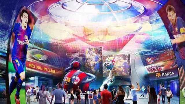 布局全球!巴萨要建5座主题乐园