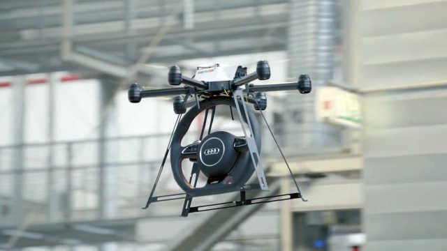 未来车怎么生产,看看奥迪智能工厂