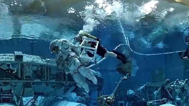 世界最大水池,培训宇航员走向太空