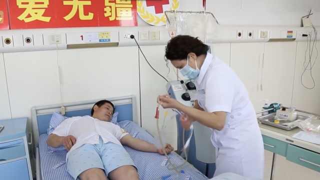 市民为德国患者捐献造血干细胞
