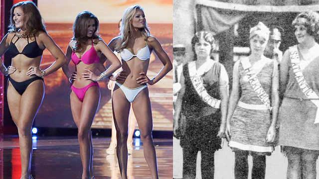 美国小姐选美泳装环节世纪史