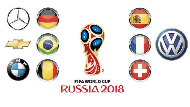 世界杯汽车赞助一览 大众这回拼了