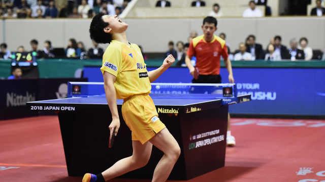 连胜马龙张继科,日本华裔小将夺冠