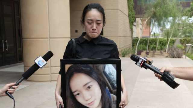 江玥命案白人凶手判25年,家人不服